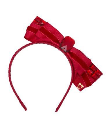 B56 Satin Twisted Flower Wide Headband Bandana Bunga Satin kuching cat side bow sereni shentel
