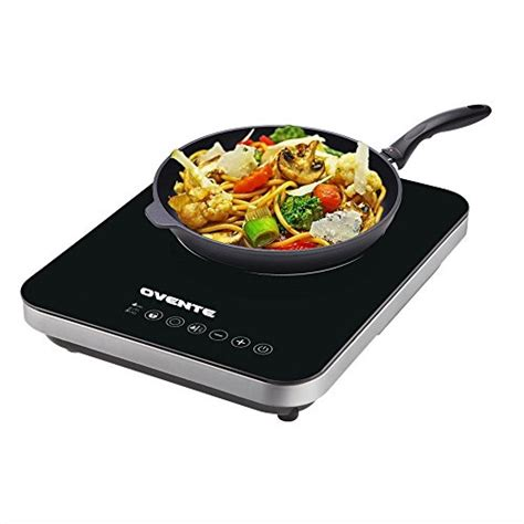 portable ceramic induction cooktop ovente induction cooktop burner cool touch portable ceramic import it all