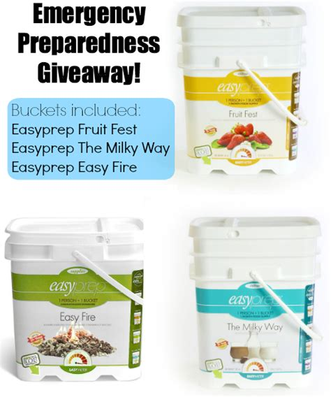 Emergency Preparedness Giveaways - emergency preparedness by the paycheck the ready store giveaway