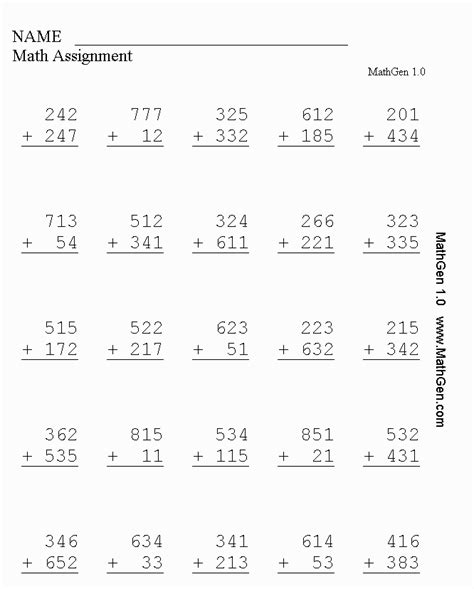Math Worksheets For Grade 3 by K 6 Addition Math Worksheets Printable Addition Worksheets