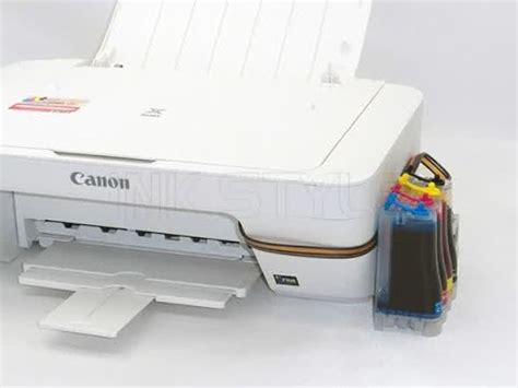 Tinta Canon Mg2570 Canon Mg 2570 System Tinta Infus