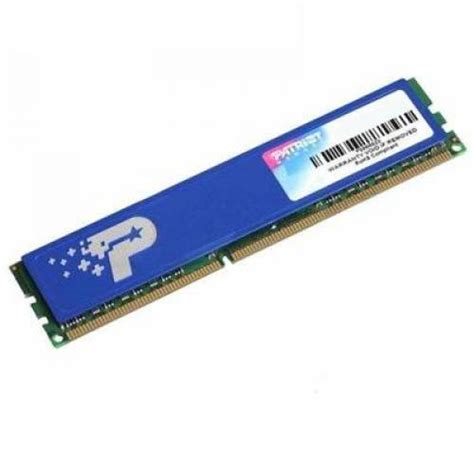 Ram 2gb Patriot patriot 2gb ddr2 signature psd22g8002h pc2 6400 800mhz single module psd22g8002h from