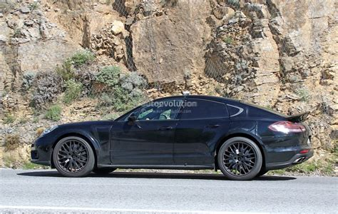 porsche sedan convertible 2018 porsche panamera based coupe spied for the first time