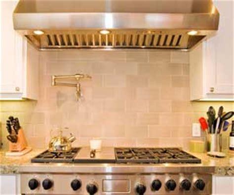 Sink Kitchen Faucet Pasta Pot Filler Faucet On Tile Blacsplash Above Wolf Range