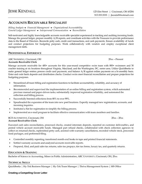 Accounts Receivable Resume Sle Australia Accounts Clerk Resume Sales Clerk Lewesmr
