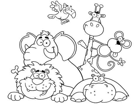 imagenes animales aereos para colorear dibujos animados para colorear animales africanos para