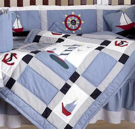 Nautical Themed Bedding by Discount Designer Nautical Boat Themed Sailing Baby Boy