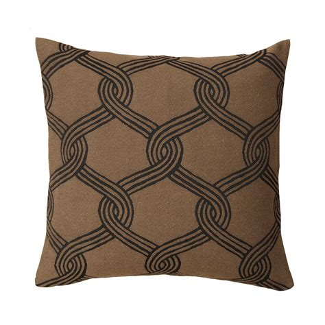 Throw Pillows Brown by Marimekko Sulhasmies Brown Throw Pillow Marimekko Fabric