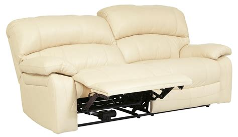 two seater recliner sofa damacio cream 2 seat power reclining sofa from ashley
