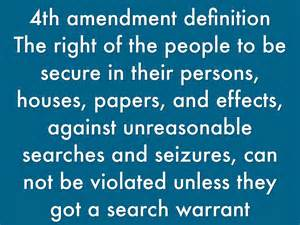 Definition Of Search Warrant Bill Of Rights By Henry Lamm