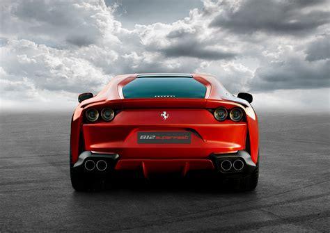 Ferrari Q by Ferrari 812 Superfast Rear Hd Cars 4k Wallpapers Images