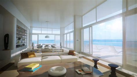 faena penthouse foster partners faena house a miami beach luxury condo