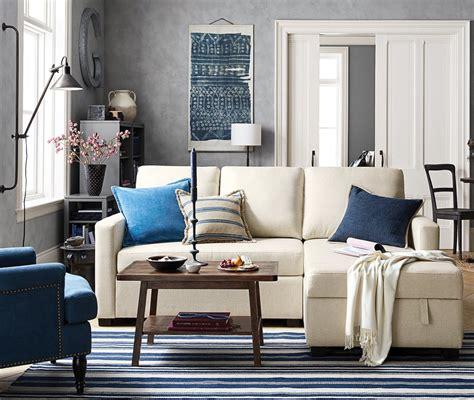 small spaces pottery barn small space big style pottery barn