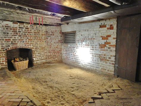 Dirt Floors In Houses by Basement South Mahockney Plantation
