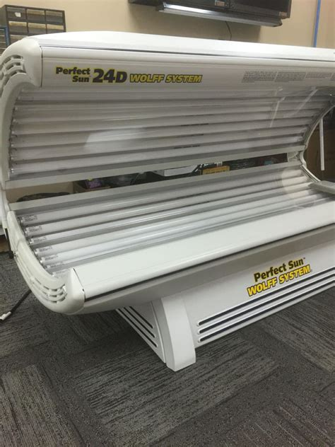 tanning beds for sale craigslist find more tanning bed perfect sun 24d wolff system for
