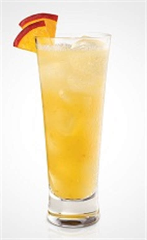 plush peach cocktail recipe with picture