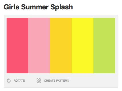 summer colors summer color palettes endless summer color