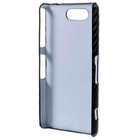Casing Xperia Z3 Go Custom Hardcase Cover sony xperia z3 compact carbon fiber black