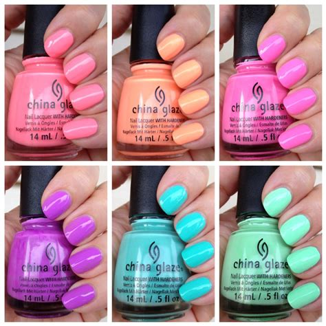 what is an appropriate spring nail polish color for a woman over 60 polish insomniac china glaze sunsational preview