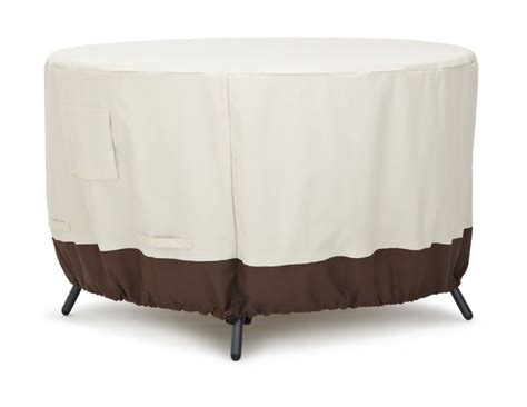 Amazon.com : Strathwood Round Dining Table Furniture Cover
