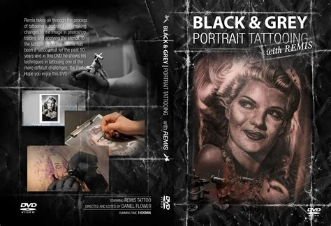Black And Grey Portrait Tattoo Dvd | remis tattoo black grey portrait tattooing dvd