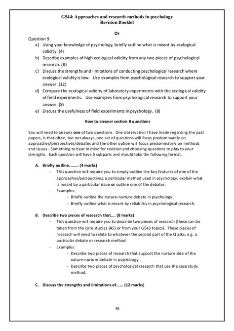 psychological study template resourcd file