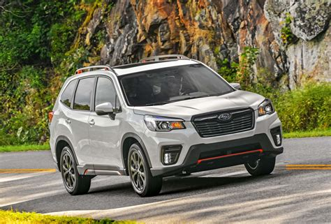 2019 Subaru Forester Sport by 2019 Subaru Forester Sport Driven Ford S Self Driving