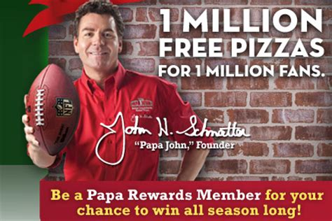 Papa John S Pizza Giveaway - papa john s one million pizza giveaway cha ching on a shoestring