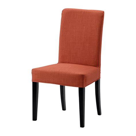 sedie ikea imbottite henriksdal sedia skiftebo arancione scuro ikea