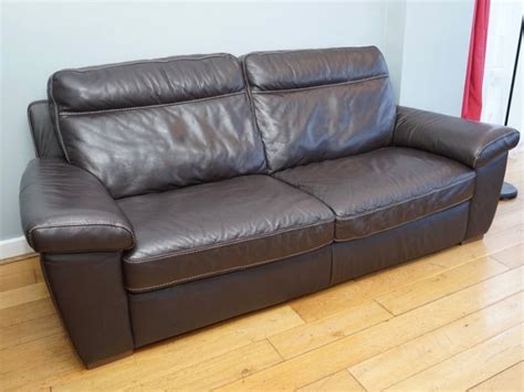 Arnotts Sofas by Arnotts Three Seaters Brown Leather Sofa For Sale In