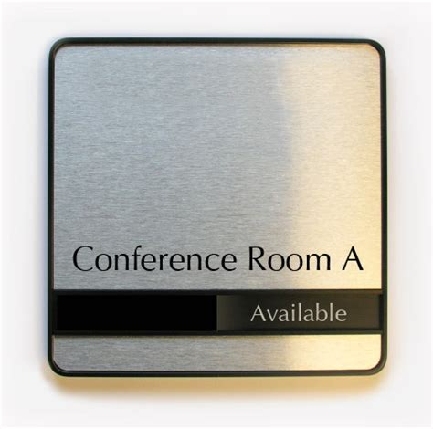 room sign conference room signs sliding availability office signs