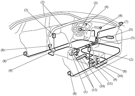 2009 mazda cx 9 srs air bag wiring and schematic diagram