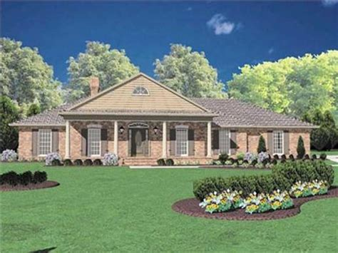 Colonial Ranch House Plans by Shotgun House Colonial Ranch Style House Plans Colonial