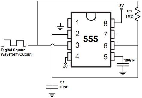 clock generator circuit diagram 555 timer for digital clock related keywords 555 timer