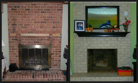 Can You Paint Brick Fireplaces by Painting Brick Fireplace Fireplace Designs