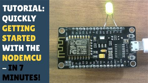 tutorial esp8266 arduino ide tutorial quickly getting started with nodemcu esp8266