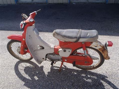 1965 honda cub 50 step through scooter for sale on 2040 motos