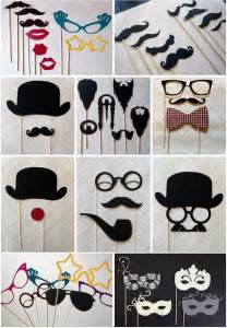 rosaline photo booth props
