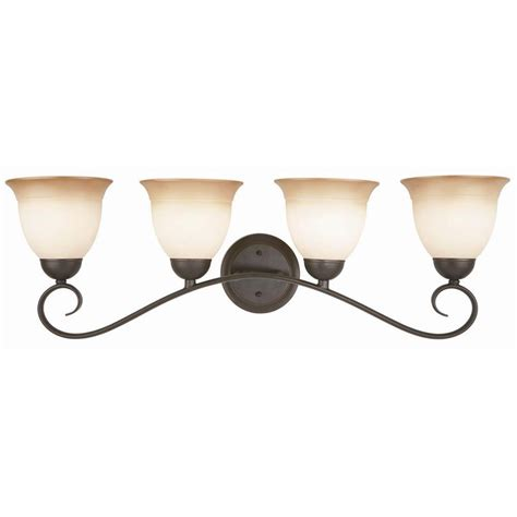 oil rubbed bronze bathroom light fixture design house cameron 4 light oil rubbed bronze bath light