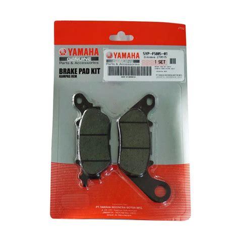 Spare Part Yamaha Genuine Part jual yamaha genuine parts 5d22 brake pad set kas rem