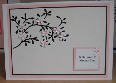 S Day Handmade Cards - handmade mothers day card a5 handmade mothers day card