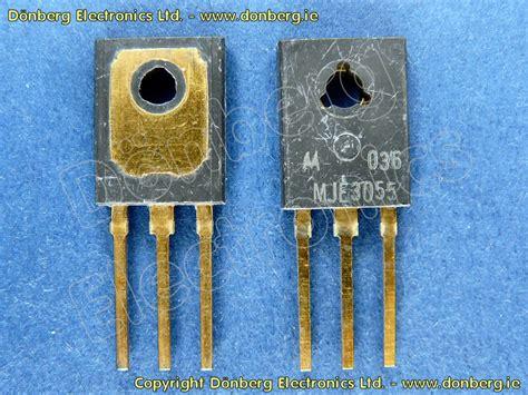 transistor mje semiconductor mje3055to mje 3055 to transistor