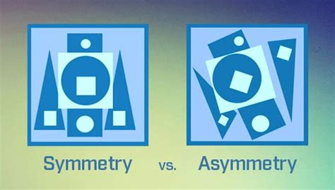 asymmetrical layout graphic design symmetry and asymmetry in web design what do you prefer