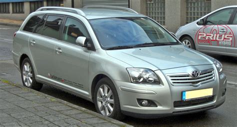 toyota avensis file toyota avensis combi ii facelift d 4d front jpg