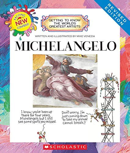 libro michelangelo basic art series famous artist series michaelangelo free resources printables and unit studies
