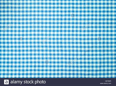 checked pattern en francais blue checkered tablecloth background stock photo