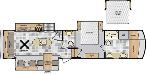 winnebago fifth wheel floor plans winnebago 5th wheel floor plans gurus floor