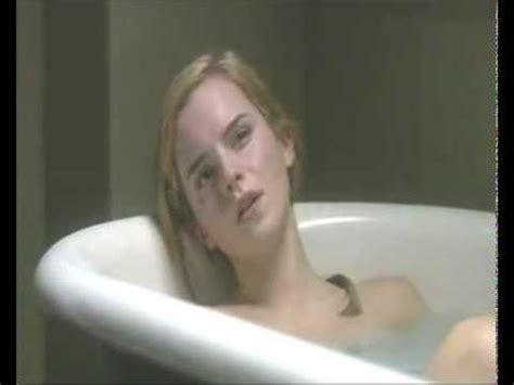 naked bathtub behind scene emma watson in bath tub youtube