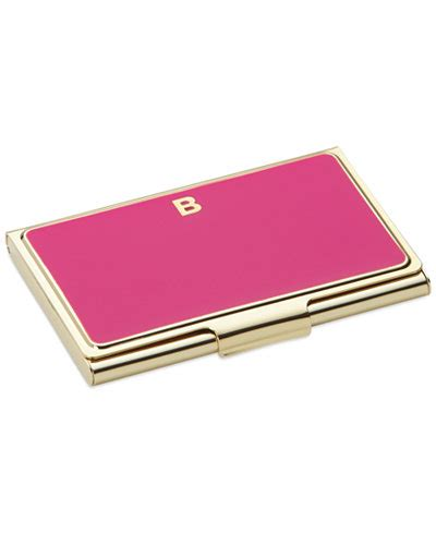 Kate Spade Tanggal Silver Brown Promo kate spade new york one in a million initial business card