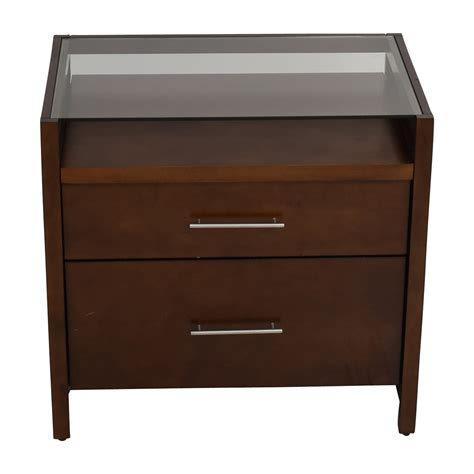 77 Off Crate And Barrel Crate Barrel Brown Desk With